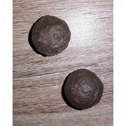 Moki balls en pierre brute