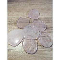 Quartz rose plate